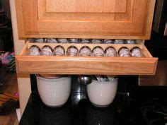 Cabinet Aides Fold Down Under Cabinet Spice Rack New