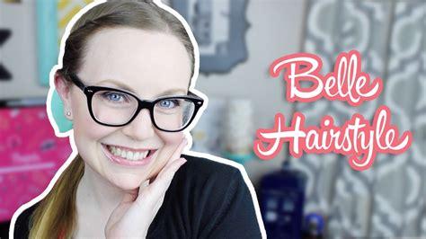 belle hairstyle tutorial beauty   beast week