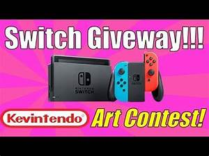 Nintendo Switch Giveaway!!!! 🔵 | Kevintendo Art Contest ...