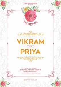 Doc463648 free invite template download free wedding for Wedding invitation video maker templates free download