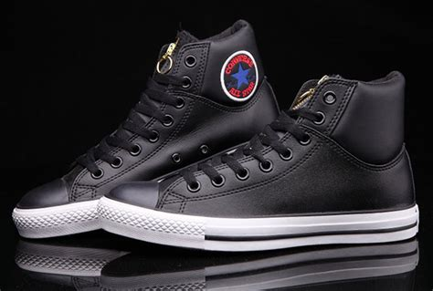 More Selection High Tops Black Converse Ct Embroidery