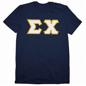 pin by sigma chi fraternity on sigma chi gear pinterest With sigma chi letter shirt