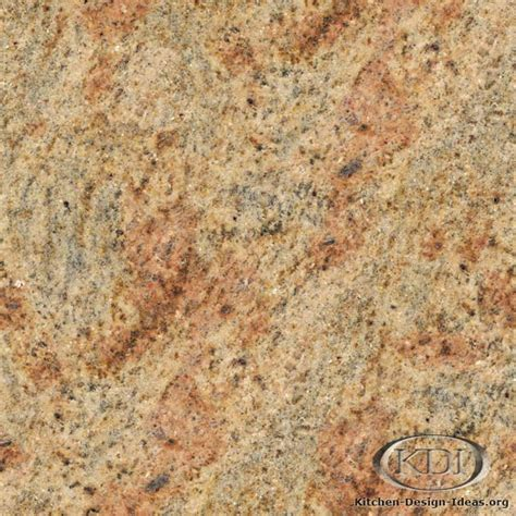 kashmir gold granite kitchen countertop ideas
