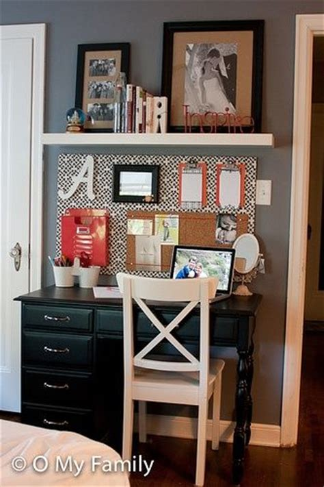 cute desks for small rooms organized desk area cute for small spaces also perfect