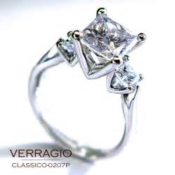 verragio princess cut engagement rings verragio engagement rings engagement rings by verragio