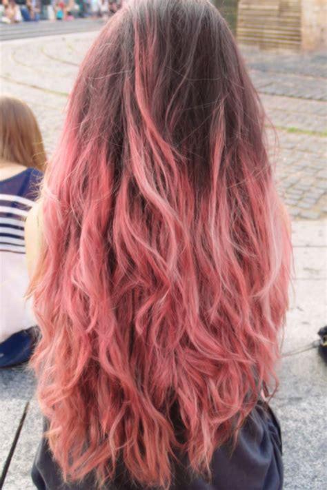 Pink And Brown Hair Hair Pinterest Brown Hair Brown
