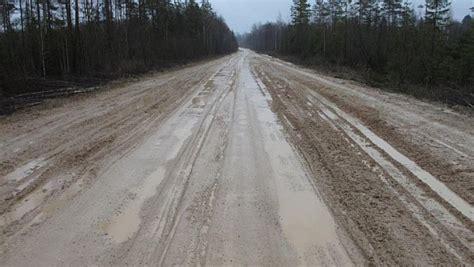 Lietainā laika dēļ visā Latvijā pasliktinās grants ...