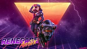 Renegade Awilix retro 80s themed wallpaper by Samuwhale on ...