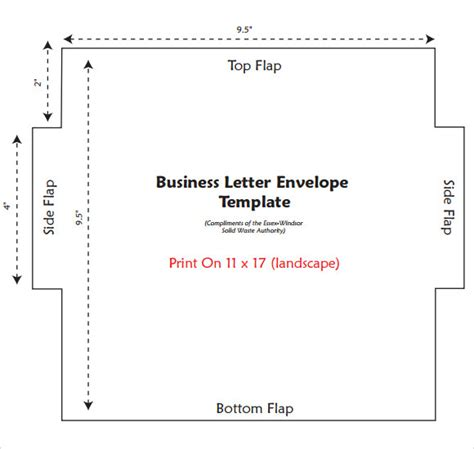 business envelope template   documents