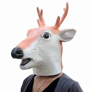 Halloween, 2018, Horror, Animal, Head, Simulation, Mask, Headgear, For, The, Party, Toy, Gift, For, Christmas