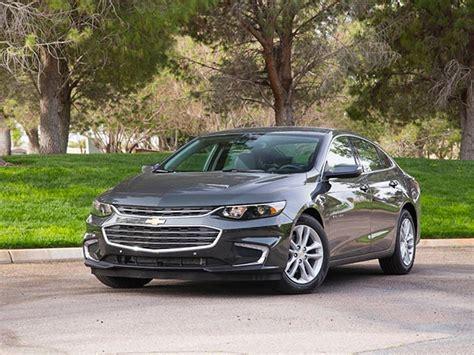 Midsize Sedan Comparison 2016 Chevrolet Malibu Kelley
