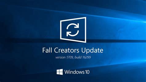 Télécharger et installer Windows 10 Fall Creators Update