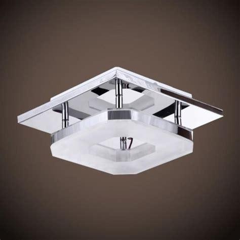 Modern Bathroom Ceiling Light Fixtures modern 8w led flush mounted ceiling light wall