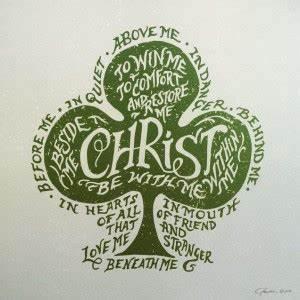 "Christian Hymn Lyrics: St. Patrick's Day Hymn – ""I Bind ..."