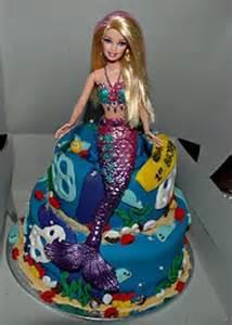 Barbie Mermaid Cake