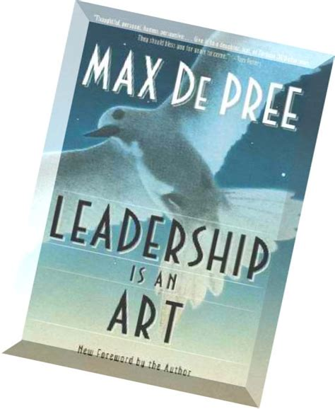 Download Leadership Is An Art By Max Depree Pdf Magazine