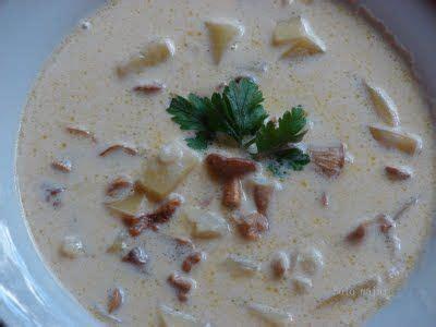 Gaileņu zupa ar saldo krējumu | Zupa