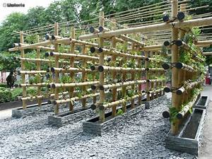 Pergola En Bambou : pergola en bambou ma pergola ~ Premium-room.com Idées de Décoration