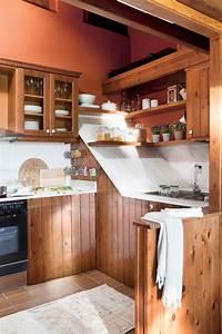 Cocinas, Peque, U00f1as, Distribuidas, En, U0026quot, L, U0026quot