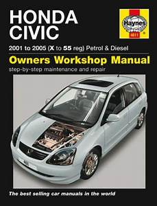 New Haynes Service Repair Manual Honda Civic 2001