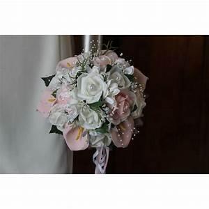 Bouquet De La Mariée : bouquet mari e rond th me paradis fait main avec roses et ~ Melissatoandfro.com Idées de Décoration