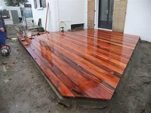Bois Exotique Pour Terrasse : terrasse bois exotique ou pin diverses ~ Dailycaller-alerts.com Idées de Décoration