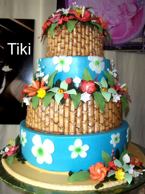 hawaiian cake  birthday bash ideas luau cakes