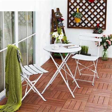 gartenmöbel set eisen gartenm 246 bel sets eisen dreiteilige tische und st 252 hle outdoor balkon klapptische und st 252 hle