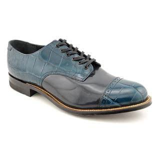 light blue dress shoes mens stacy adams mens regalia light blue slip on bicycle toe