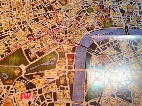 sherlock holmes detective consulting map spoiler london