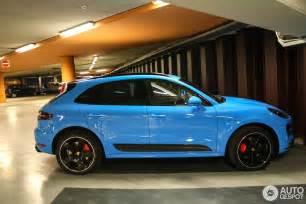 porsche cayenne turbo s interior mexico blue porsche macan turbo spotted in amsterdam