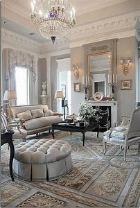 52, Comfy, French, Country, Living, Room, Design, Ideas