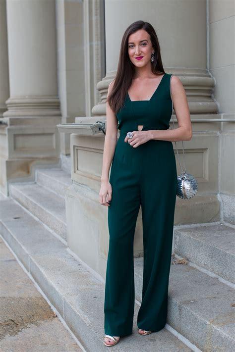 gianni bini jumpsuit emerald jumpsuit ideas baubles to bubbles