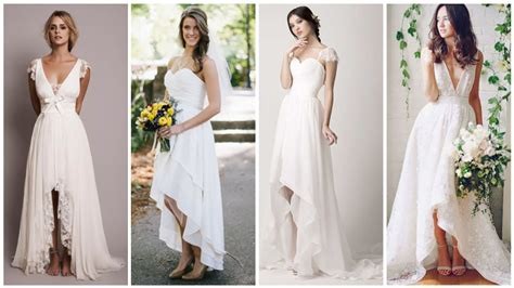 casual wedding dresses  carefree brides
