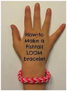 How To Make A Fishtail  Loom Bracelet
