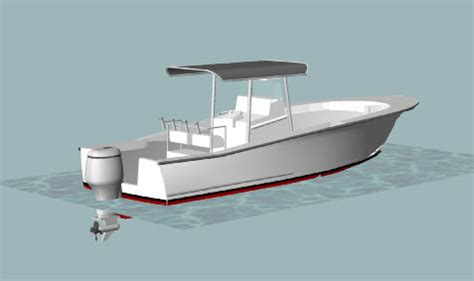 Center Console Boat Plans by Sportfish 26 Power Boat Convertible Center Console