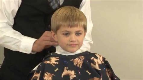Boys Side Part Clipper Cut