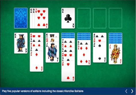 microsoft solitaire collection  italiano  htmlit