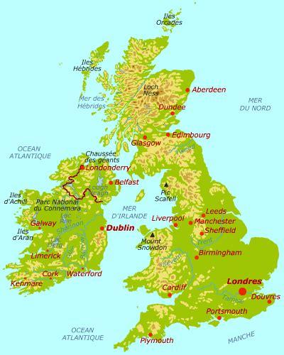 Carte Du Royaume Uni Sans Les Villes by Infos Sur Regions Villes Grande Bretagne Arts Et Voyages