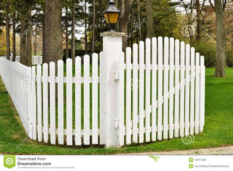 Picket Fence With Flowers Clipart
