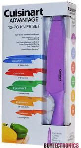cuisinart colored knife set cuisinart 12 kitchen knife set cuisinart advantage