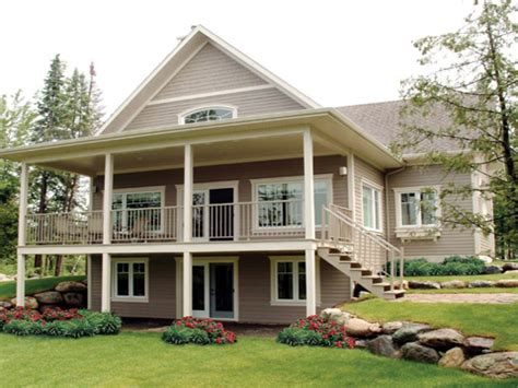 lake house plans with walkout basement 2018 house plans