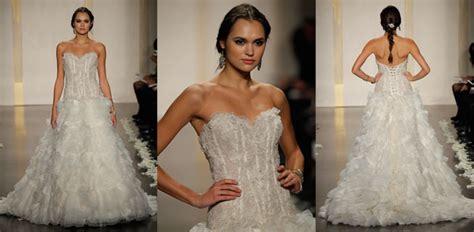 Gorgeous Sheer Lace Corset Wedding Dresses