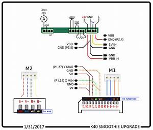 K40 Smoothie Wiring Diagram   Lasercutting