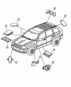2006 Jeep Commander Module  Transmission Control