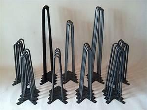 Hairpin Legs Baumarkt : buy handmade midcentury style metal hairpin legs made to order from bord ~ Frokenaadalensverden.com Haus und Dekorationen