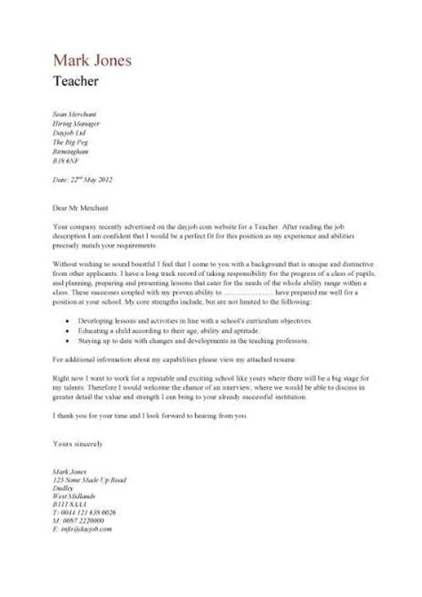 Teaching Abroad Cover Letter by Best 10 Sle Resume Cover Letter Ideas On