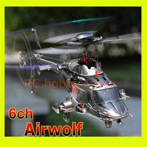 Walkera Rc Helicopter Airwolf 200sd3 Flybarless Triple