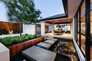 Plan Maison Japonaise : maison la japonaise en australie architecture moderne ~ Melissatoandfro.com Idées de Décoration