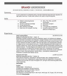 find resume examples in hanceville al livecareer With field training officer resume
